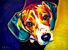 Beagle Bailey by DawgArt art print