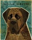 English Mastiff - Brindle by John W. Golden art print