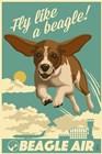 Fly Like a Beagle by Lantern Press art print
