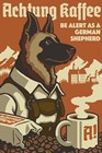 German Shepherd by Lantern Press art print