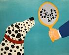 Mirror Image Of Dog by Stephen Huneck art print