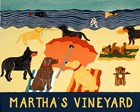 Ocean Ave Martha's Vineyard by Stephen Huneck art print