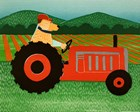 The Tractor by Stephen Huneck art print