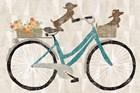 Doxie Ride by Sue Schlabach art print