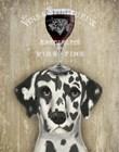Dog Au Vin Dalmatian by Fab Funky art print