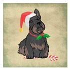 Merry Scottie by Marcus Prime art print