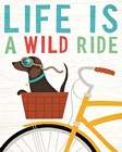 Beach Bums Dachshund Bicycle I Life by Michael Mullan art print
