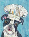 Chef Dog by Lisa Morales art print
