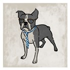 Nerdy Terrier 2 by Marcus Prime art print
