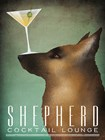 Shepherd Martini by Ryan Fowler art print