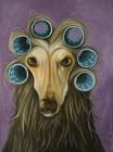 Curly by Leah Saulnier art print