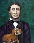 Thoreau by Leah Saulnier art print