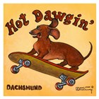 Hot Dowgin' by Janet Kruskamp art print