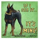 It's Mine by Janet Kruskamp art print