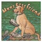 Man's Best Friend by Janet Kruskamp art print