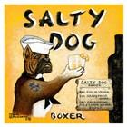 Salty Dog by Janet Kruskamp art print