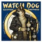 Watch Dog by Janet Kruskamp art print