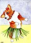 Hola Dog Dance by Cheryl Bartley art print