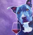 Shakti With Wine by DawgArt art print