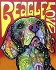 Beagle Love by Dean Russo art print