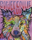 Border Collie Luv 2 by Dean Russo art print