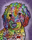 Sweet Poodle by Dean Russo art print