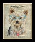 Yorkshire Terrier by Jean Plout art print