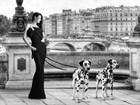 Walking in Paris by Julian Lauren art print