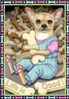 Chihuahua Cookies by Tomoyo Pitcher art print