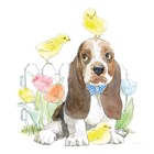 Easter Pups V by Beth Grove art print