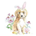 Easter Pups IV by Beth Grove art print
