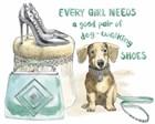 Glamour Pups V by Beth Grove art print