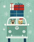 Holiday on Wheels XII by Michael Mullan art print