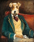 Edgar Allen Paw by Avery Tillmon art print
