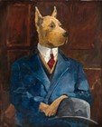Inspector Dogleash by Avery Tillmon art print