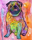 Pug by Dean Russo- Exclusive art print