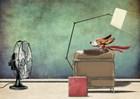 Racing Dog by Etienne Betie art print