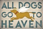 All Dogs Go to Heaven III by Ryan Fowler art print