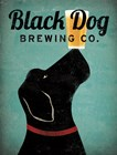 Black Dog Brewing Co v2 by Ryan Fowler art print