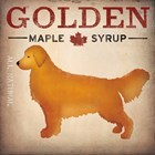 Golden Dog at Show No VT by Ryan Fowler art print
