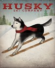 Husky Ski Co by Ryan Fowler art print