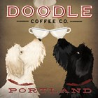 Doodle Coffee Double IV Portland by Ryan Fowler art print