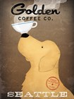 Golden Coffee Co by Ryan Fowler art print