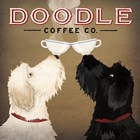 Doodle Coffee Double IV by Ryan Fowler art print