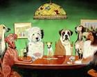 Dogs Playing Poker by Patrick Sullivan art print
