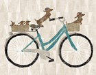 Doxie Ride ver II by Sue Schlabach art print