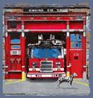 Fire House by Jim Baldwin art print