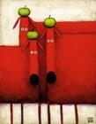 Tres Amigos Art by Daniel Kessler art print