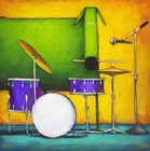 Drum Dog by Daniel Kessler art print