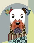 Airedale Terrier Dog by Lanre Adefioye art print